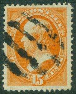 EDW1949SELL : USA 1870 Sc #152 VF-XF Used. Intense color. 1 short perf. Cat $220