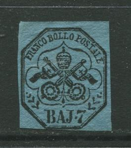 STAMP STATION PERTH Italy #8?  Roman States Mint Imperforate CV$?