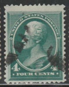 U.S. Scott #211-212 Jackson-Franklin Stamp - Used Single