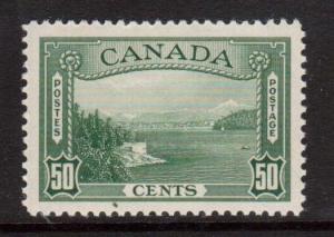 Canada #244 XF/NH Gem