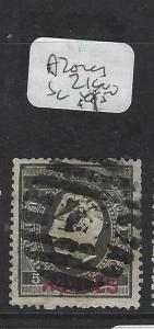 AZORES (P2402B) SC 21      VFU