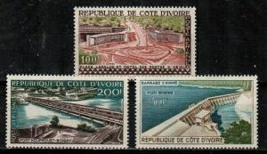 Ivory Coast Scott C14-16 Mint NH (Catalog Value $23.00)