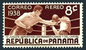 Panama C46,hinged.Michel 249. 4th Central American Caribbean Games.Boxing.