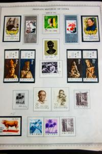 China PRC Stamps Mostly Mint 1980s-1990s Sets and S/S