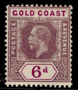 GOLD COAST GV SG78, 6d dull & bright purple, M MINT. Cat £13.