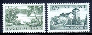 Finland - Scott #380-381 - MH - SCV $24