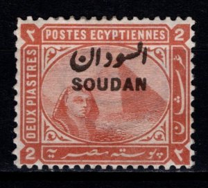 Sudan 1897 Definitive stamp of Egypt Optd. 'SOUDAN', 2p [Mint]