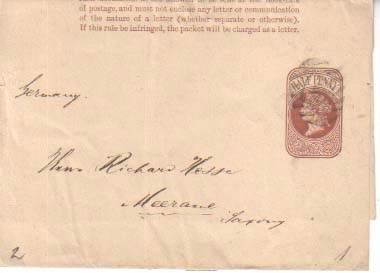 Great Britain, Postal Stationery, Wrapper