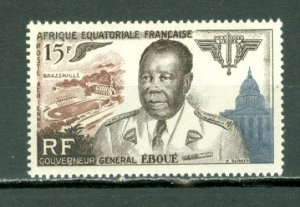 FRENCH EQUATORIAL AFRICA #EBOUE #C42...MINT..$6.50