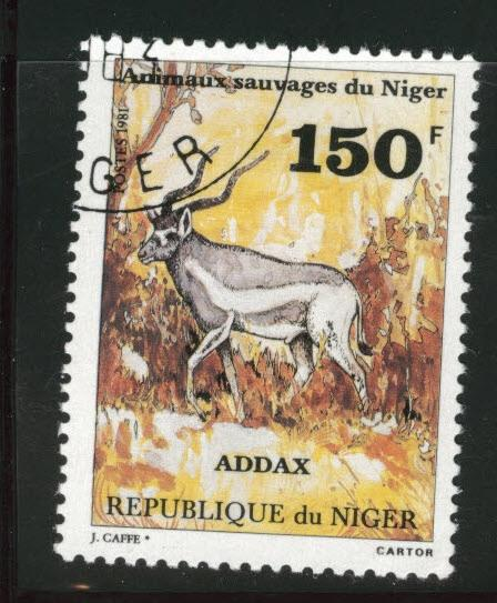 Niger Scott 542 used CTO 1981 stamp