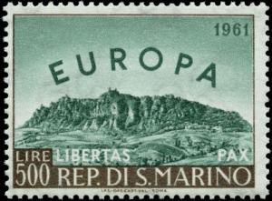 San Marino Scott #490 Mint Never Hinged  Europa Issue