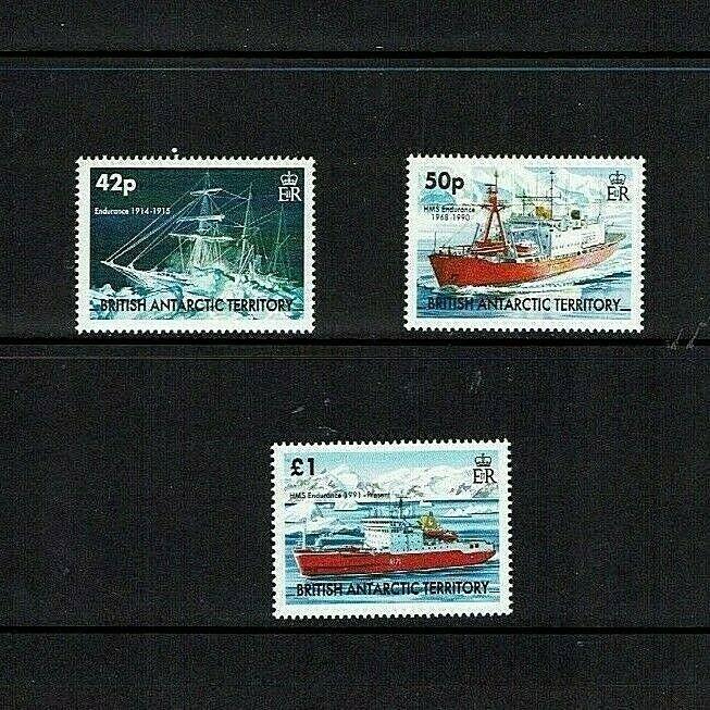 British Antarctic Territory: 2005, Endurance, Ships,  MNH set
