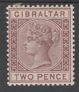GIBRALTAR 1886 QV 2D