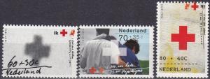 Netherlands #B665-7  MNH CV $3.75  (SU7644)