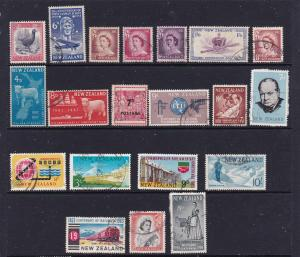 New Zealand a small used lot of pre decimal QE2 better items