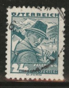 Austria Scott 362 Used stamp from 1934-35 set