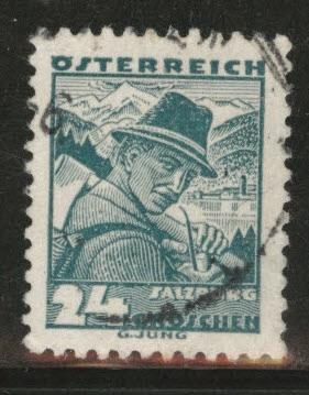 Austria Scott 362 Used stamp from 1934-35 set