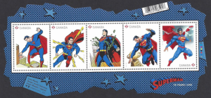 Canada #2677 MNH, ss, Superman, issued 2013