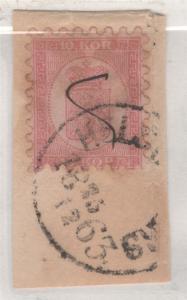 Finnland 5 Helsingfors Groß Kreis Stempel 1860 Schöne 10 Kop mit Zertifikat