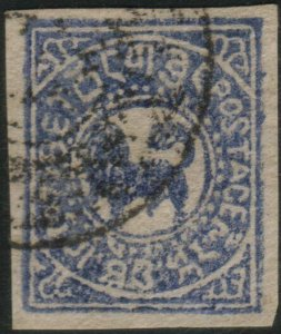 TIBET  An old forgery of a classic stamp...................................46357
