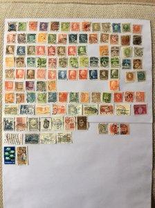 Denmark 100+ stamps - Lot B