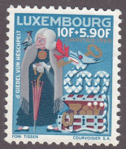 Luxembourg B251 The Old Spinster of Heispelt 1965