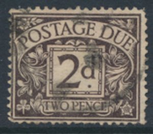 GB Postage Due  SG D4 wmk simple cypher  Used 1914 SC# J4  See scan