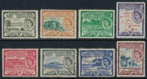 St. Kitts-Nevis #120-8*u  CV $3.45