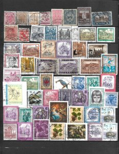 COLLECTION LOT OF 122 AUSTRIA STAMPS 1867+ 2 SCAN