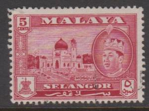 Malaya Selangor Sc#117 Used