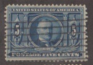 U.S. Scott #326 Louisiana Purchase - McKinley Stamp - Used Single