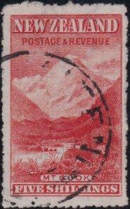 New Zealand 1902-1907 SC 120 Used