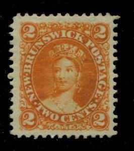 New Brunswick #7 SG 10 MNG VF 2c Cents Issue [N4477] CV=$25.00