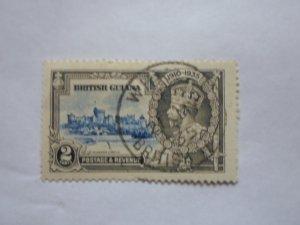 british guiana stampUSED NO HINGE MARKS, # 8
