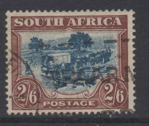 *South Africa #30 Used, FVF, Engraved Wmk #201