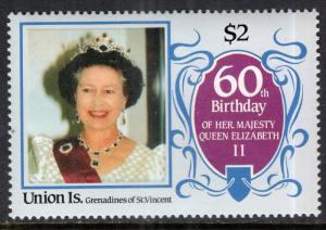 St Vincent Grenadines Union Island 215 Queen Elizabeth II MNH VF