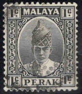 MALAYA Perak Scott 84 Used stamp