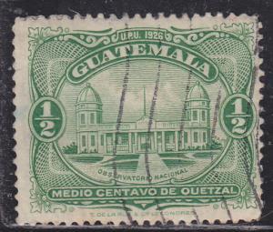 Guatemala 233 National Observatory 1929