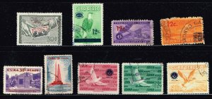 CUBA STAMP Airmail Stamps Collection Lot #S5