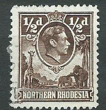 Northern Rhodesia  SG 26 Used