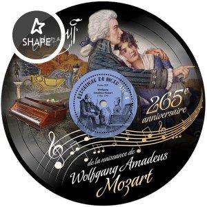 NIGER - 2021 - Wolfgang Amadeus Mozart - Perf Souv Sheet - Mint Never Hinged