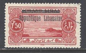 Lebanon Sc # 75 used (RS)