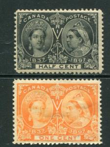 Canada #50 and #51 Mint F-VF