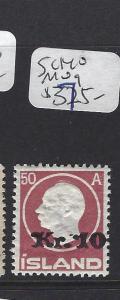ICELAND   (PP1607B)  10  KR SURCHARGE SC 140    MOG