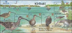Kiribati 2004 Sc 849 Birds Curlew boats CV $13