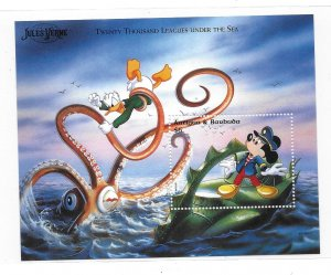 Antigua & Barbuda MNH S/S 1997 Mickey & Donald 1996