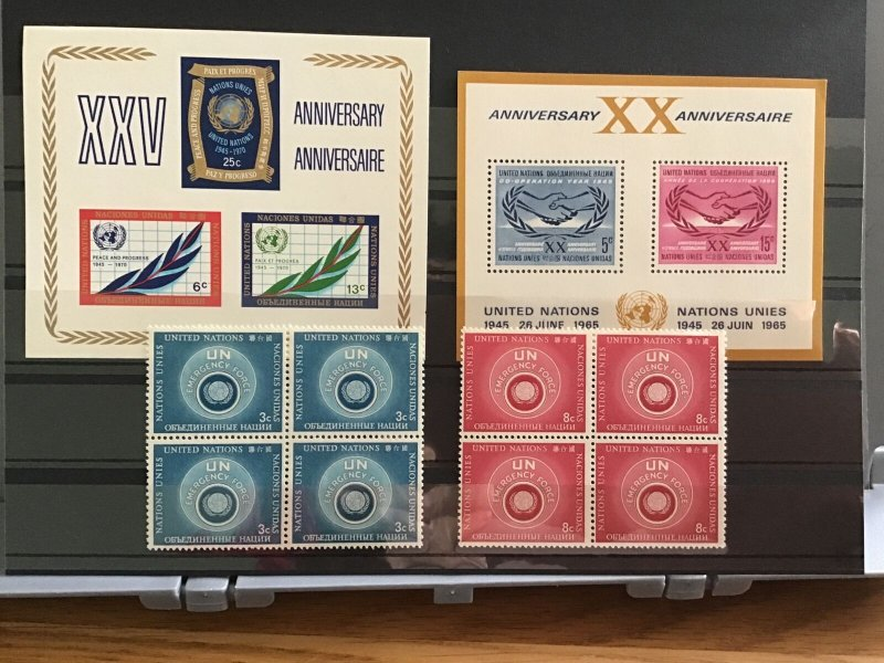 United Nations mint never hinged    Stamps   R30345