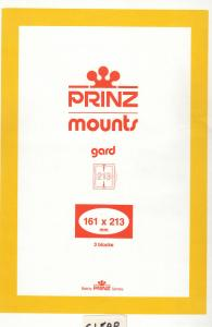 PRINZ CLEAR MOUNTS 161X213 (3) RETAIL PRICE $10.50