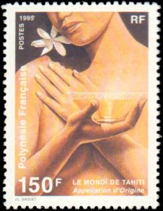 French Polynesia #660, Complete Set, 1995, Never Hinged