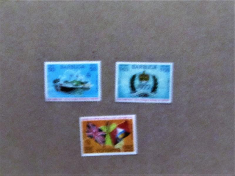 Barbuda - 302-04, MNH Set. Royal Visit. SCV - $0.90